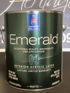 Picture of Sherwin Williams Interior Emerald Matte Paint Can