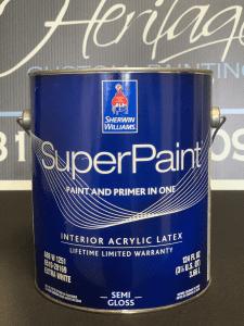 Picture Of Sherwin Williams Super Paint Interior Semi Gloss
