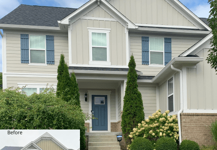 What does it cost to paint this exterior?