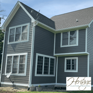 A Freshly Primed and Painted House