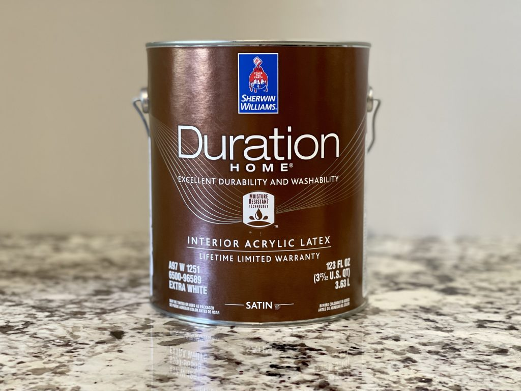 Duration is a more affordable but still long-lasting exterior paint solution.