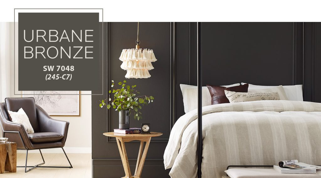 Urbane bronze is one of the best interior colors of the year.